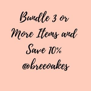 Other - Bundle 3 or More Items and Save 10%